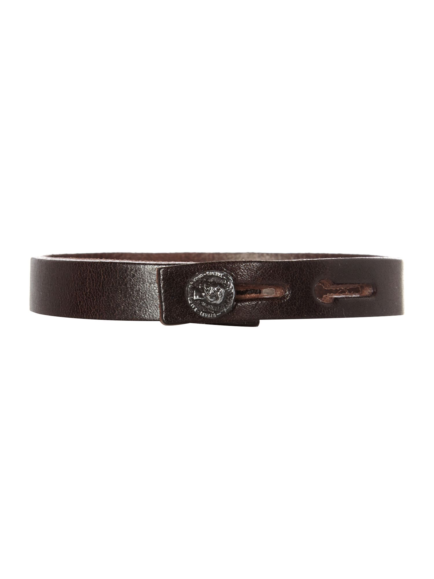 Leather amosto thin bracelet