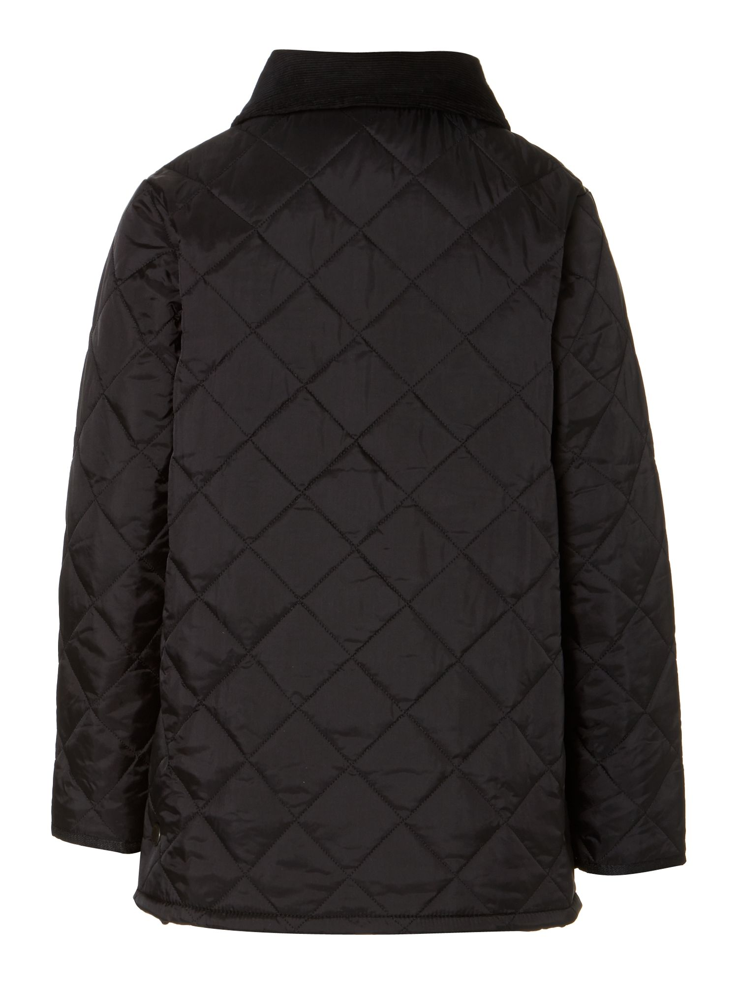 Boy's Liddesdale quilted jacket with cord collar