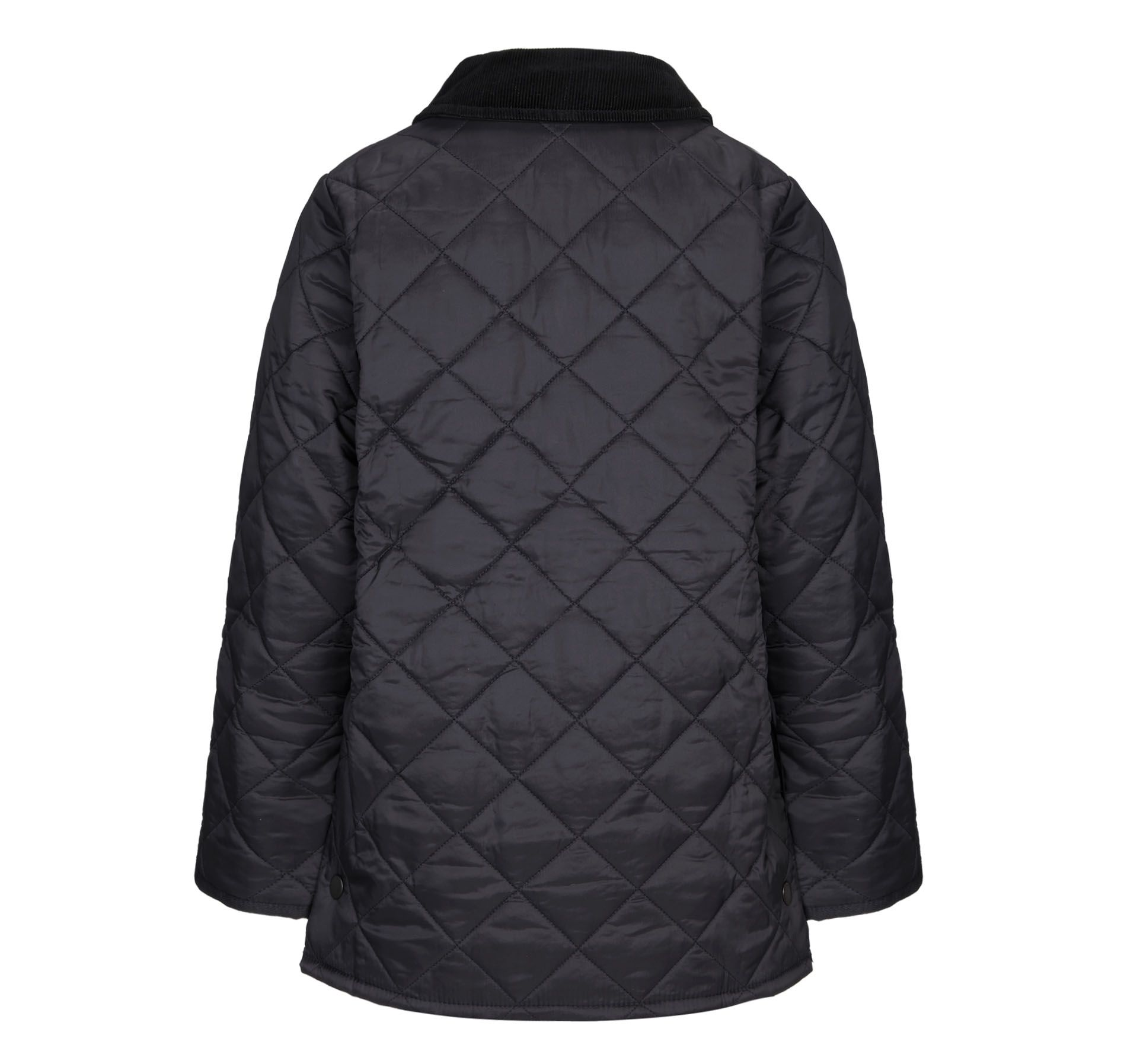 Boy`s Liddesdale quilted jacket with cord collar