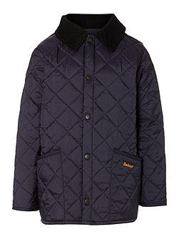 Boys Liddesdale quilted jacket with cord collar