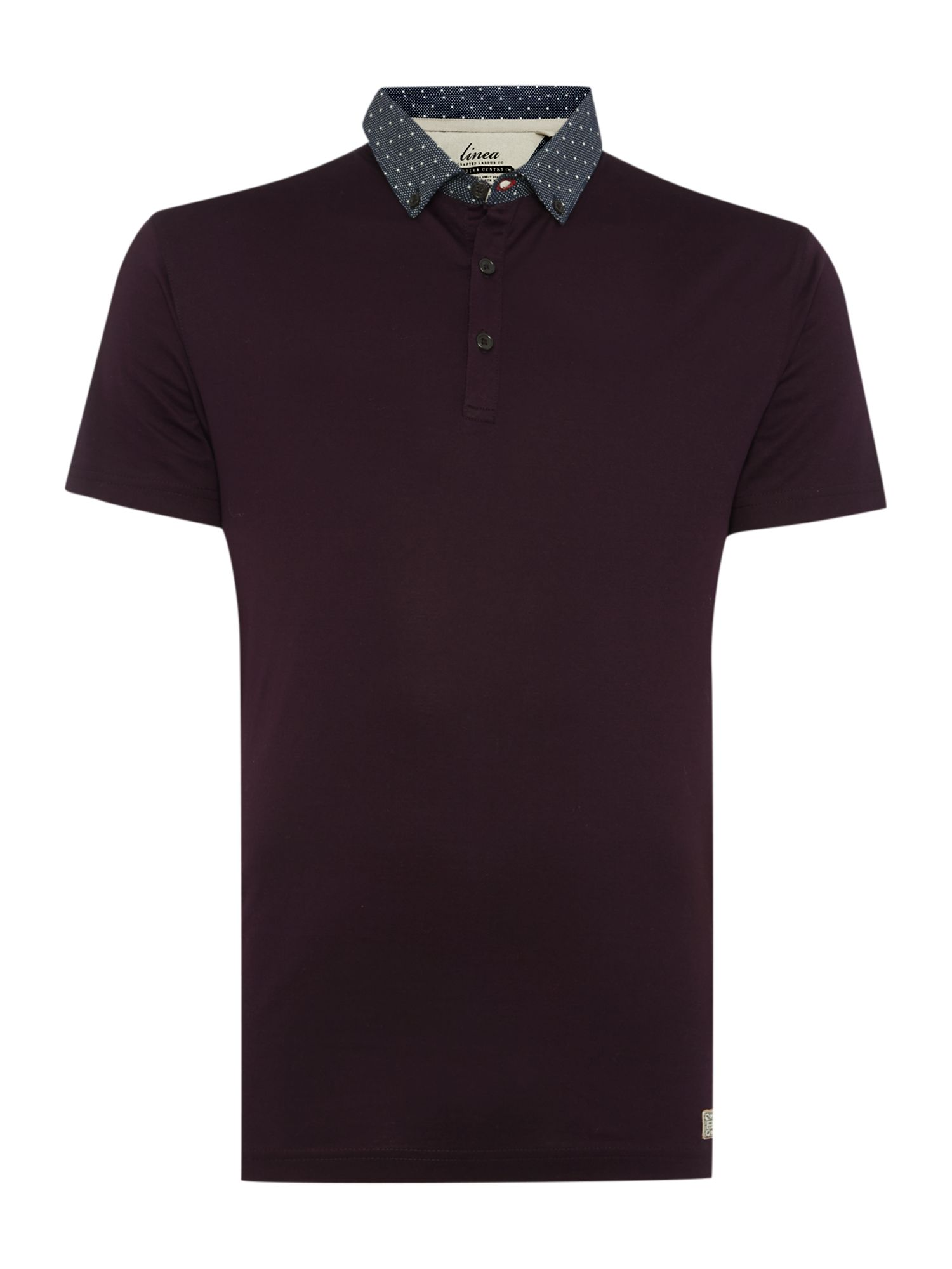 alpha mercerised cotton polo