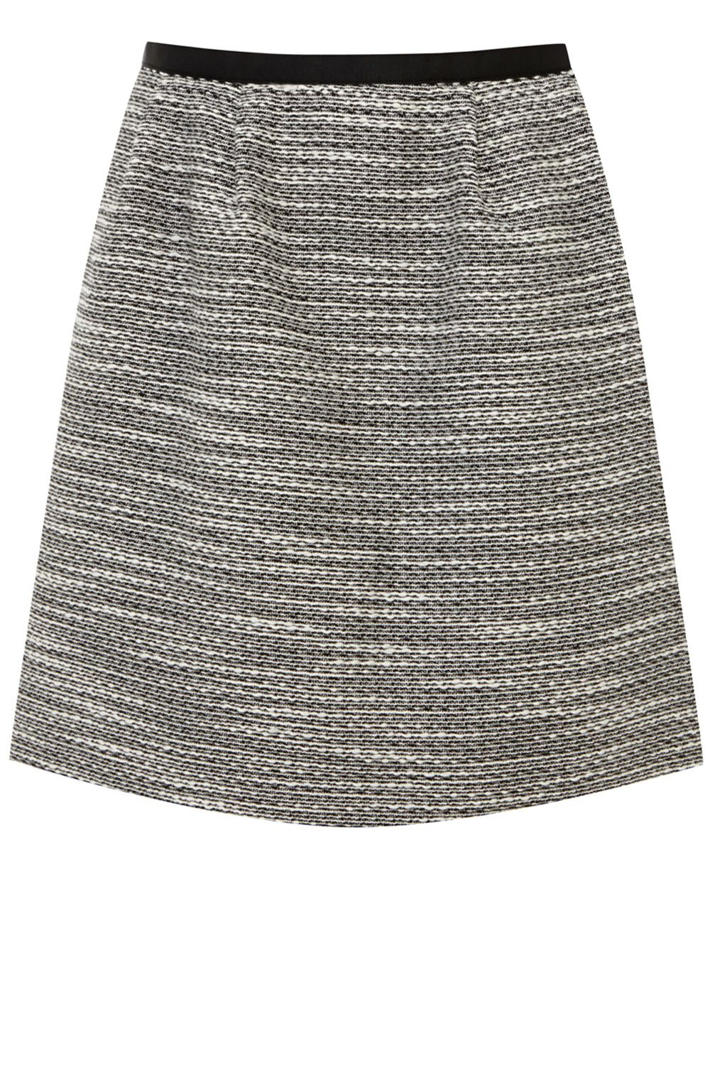 Salt and pepper texture skirt