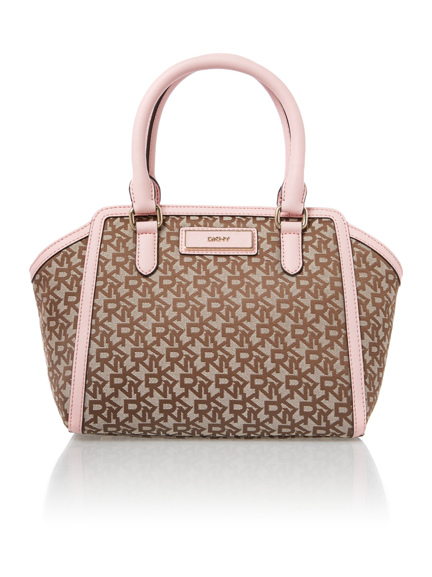 Saffiano pink small tote bag