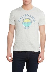 California print t shirt