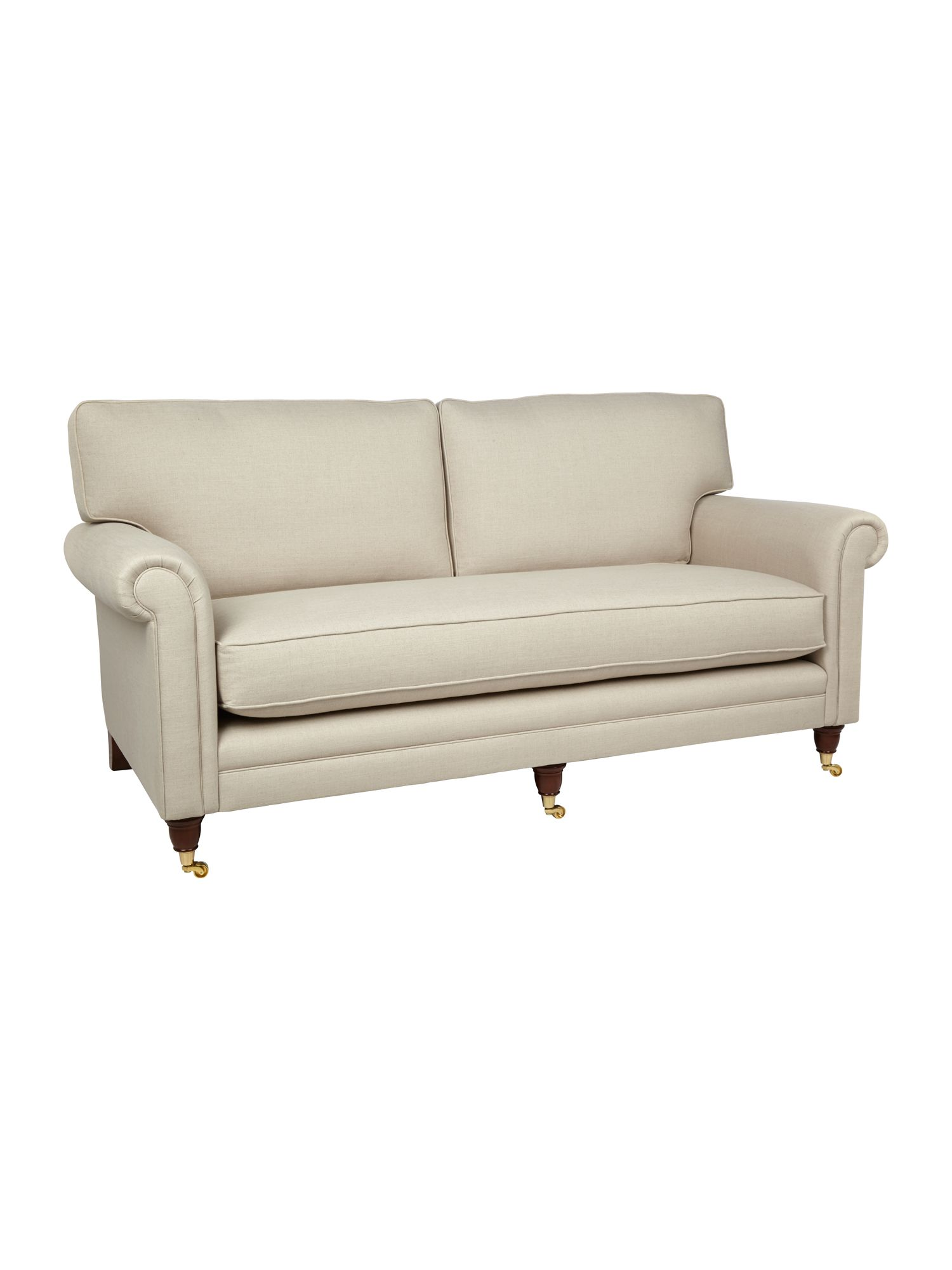 Wiltshire beige large sofa