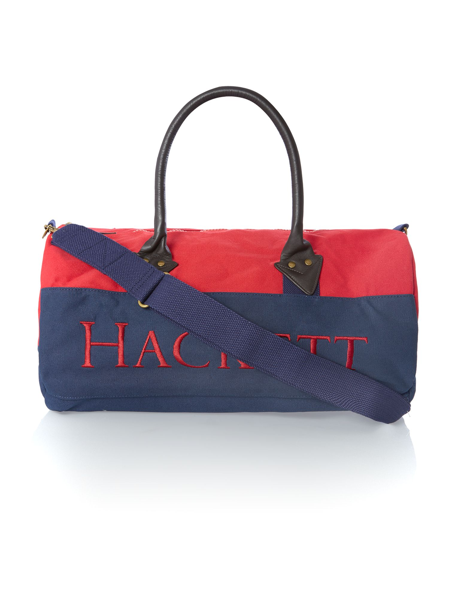 Large logo duffle bag