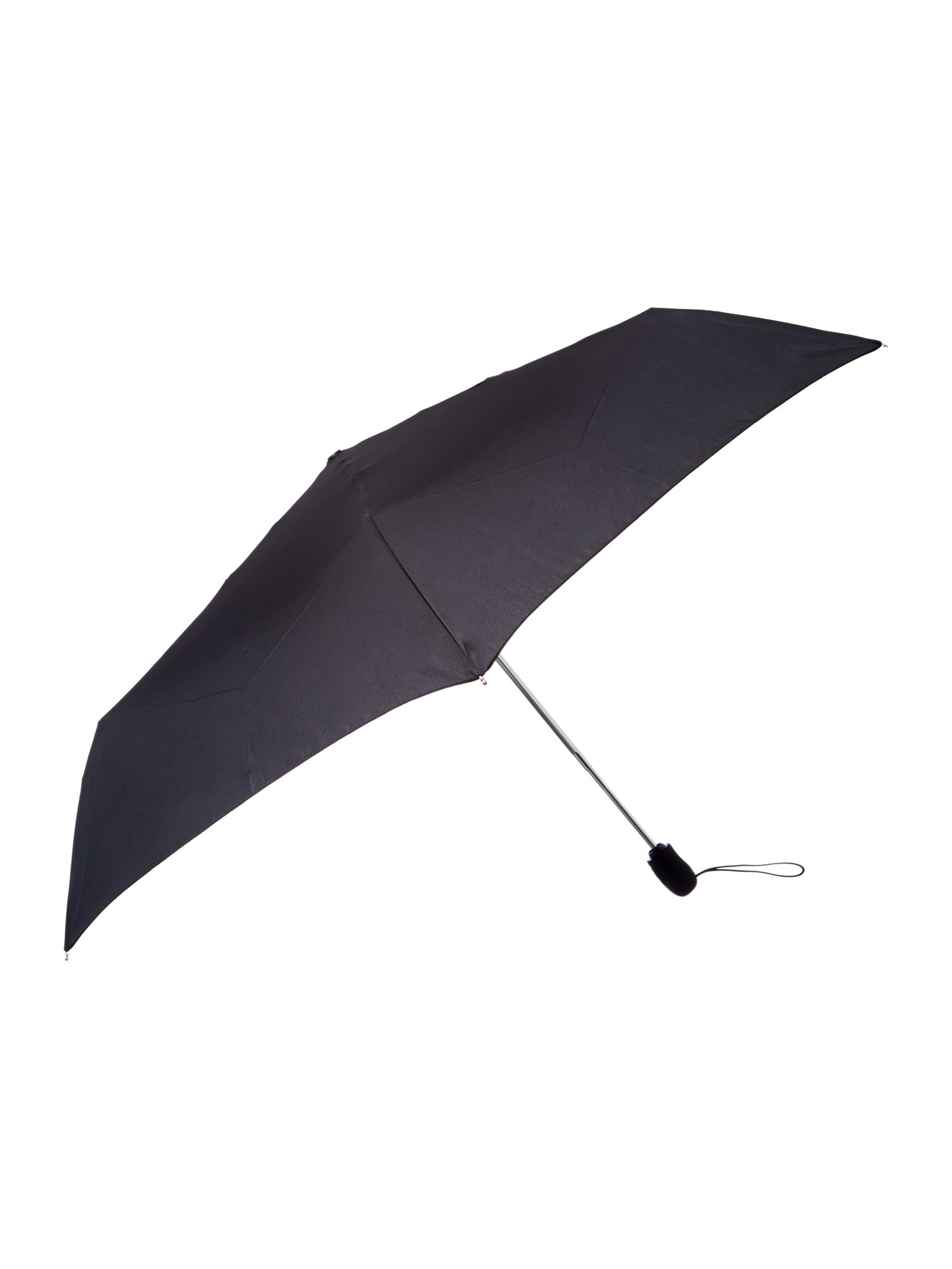 Fulton Plain automatic superslim umbrella Black