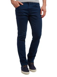 line 8 511 new woad/black refined 3d jean