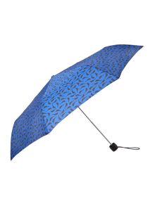 Bird print minilite umbrella