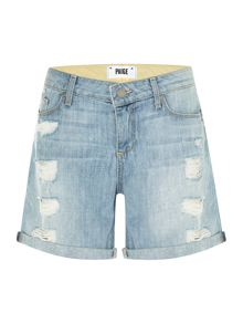 Grant shorts with ripped detail