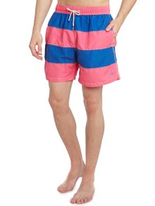 Rugby stripe swim short