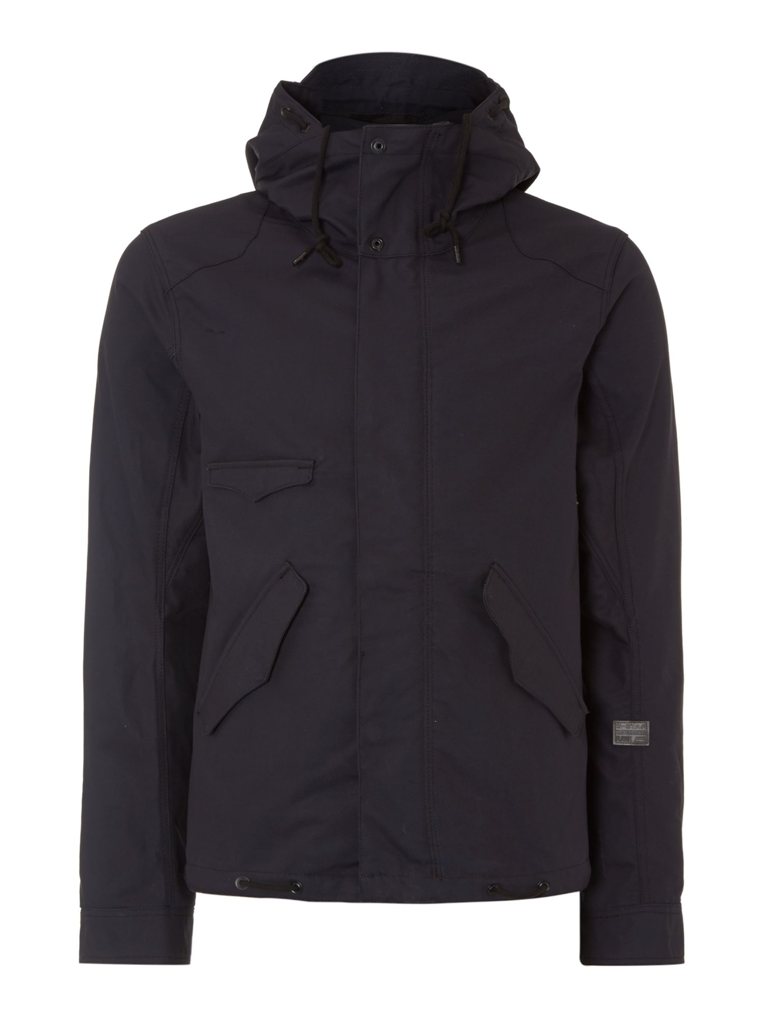 Three pocket hooded jacket