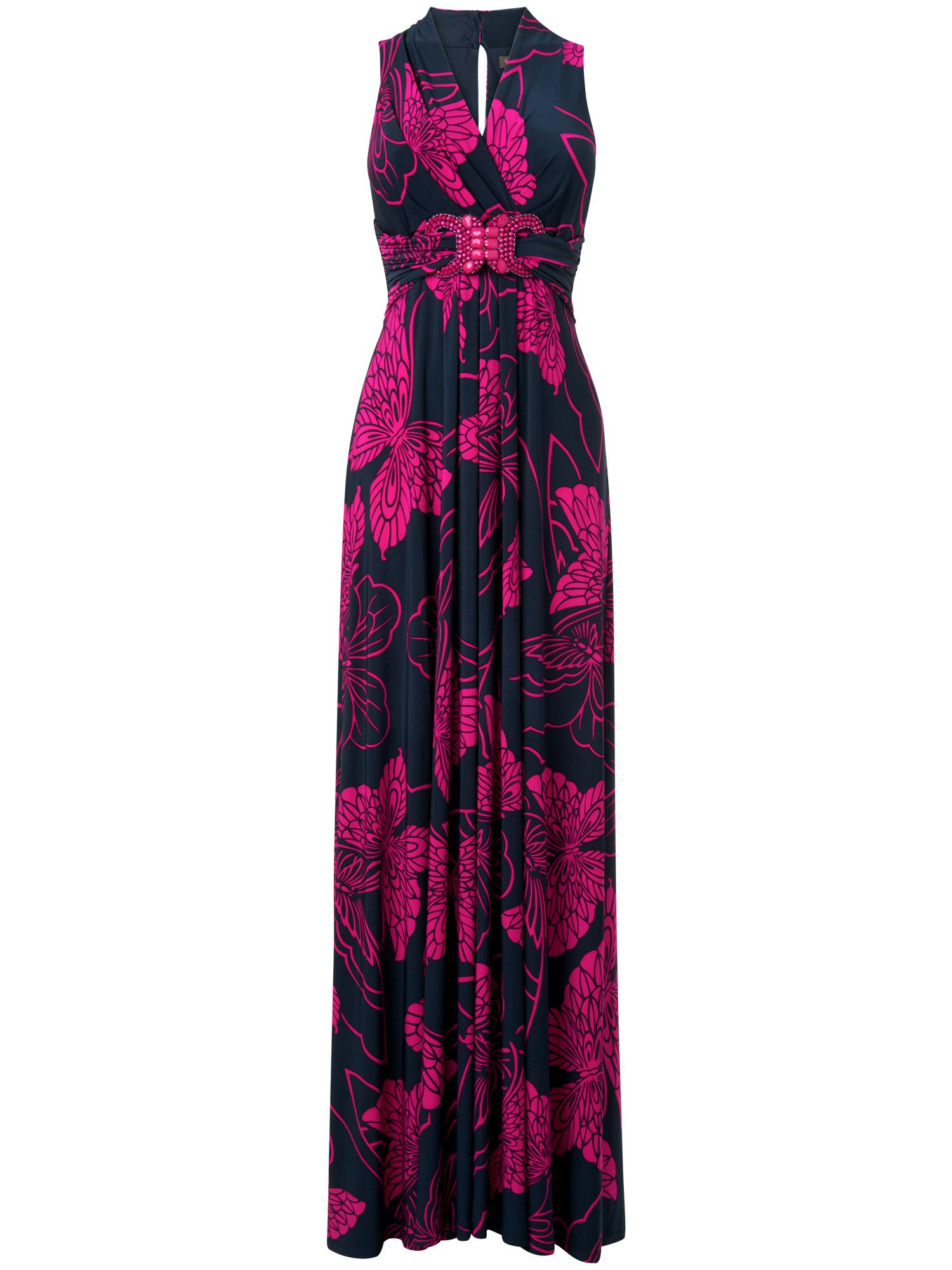 Mariposa butterfly maxi dress