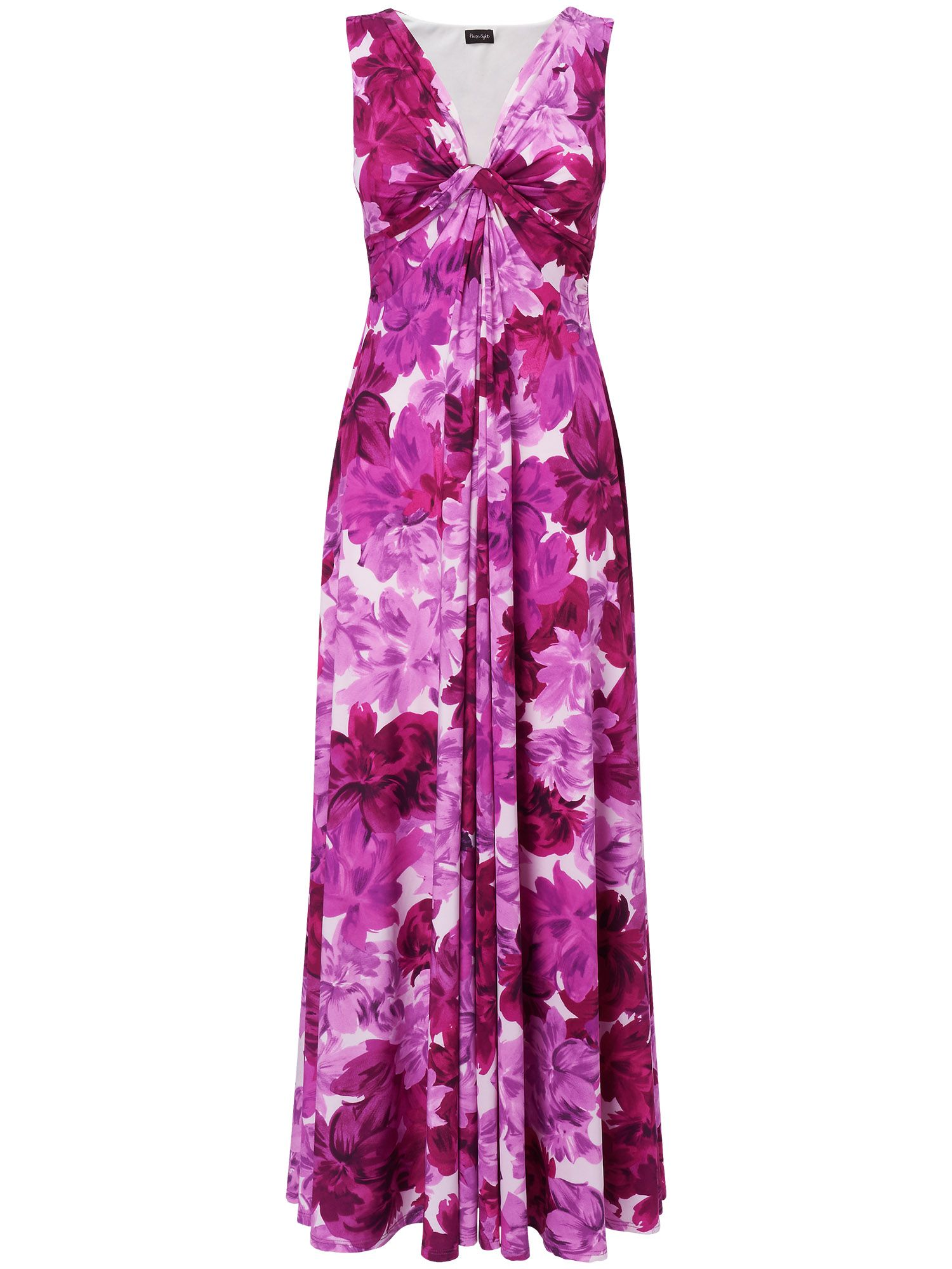 Tea rose maxi dress