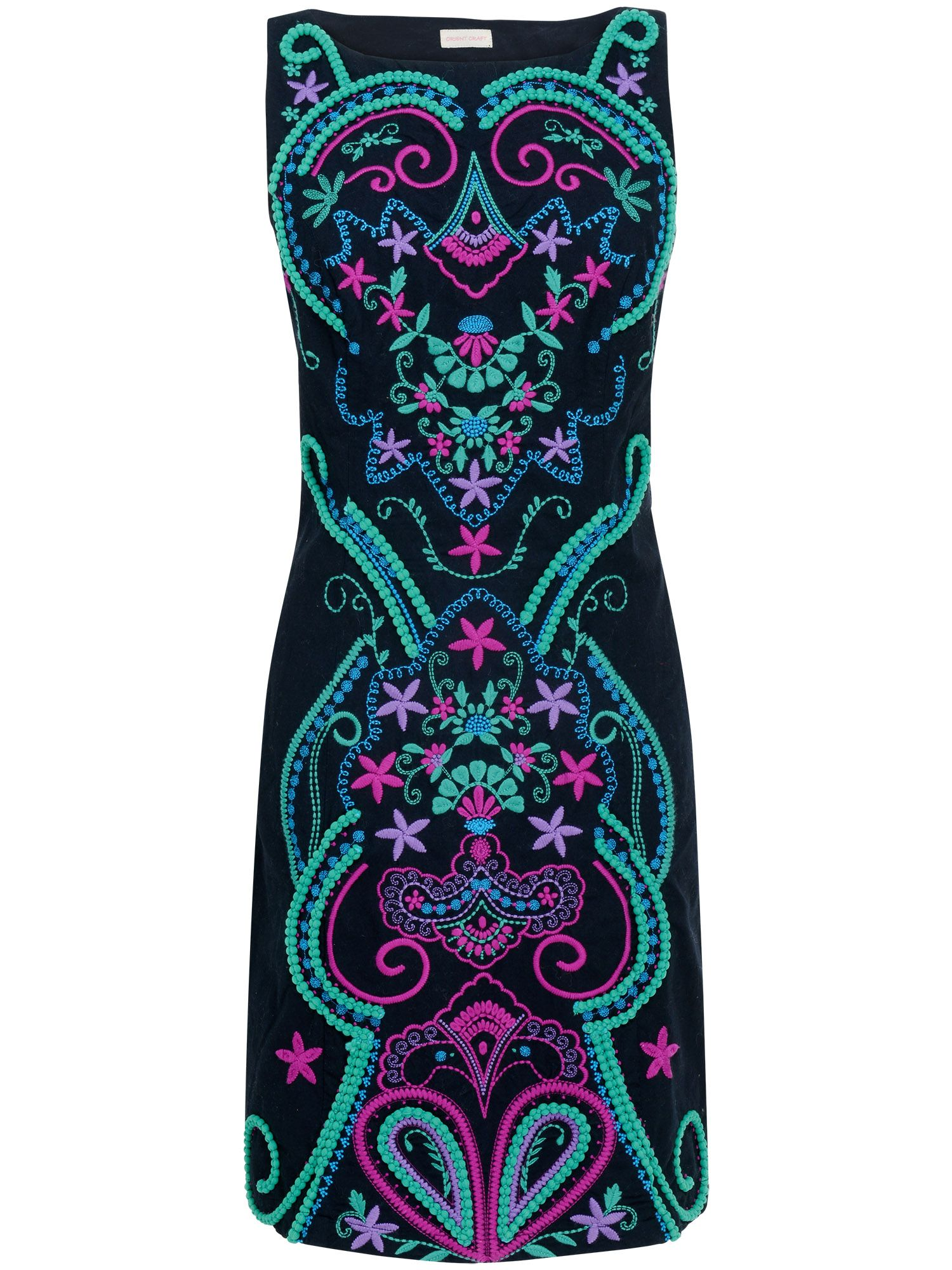 Sheridan embellished shift dress