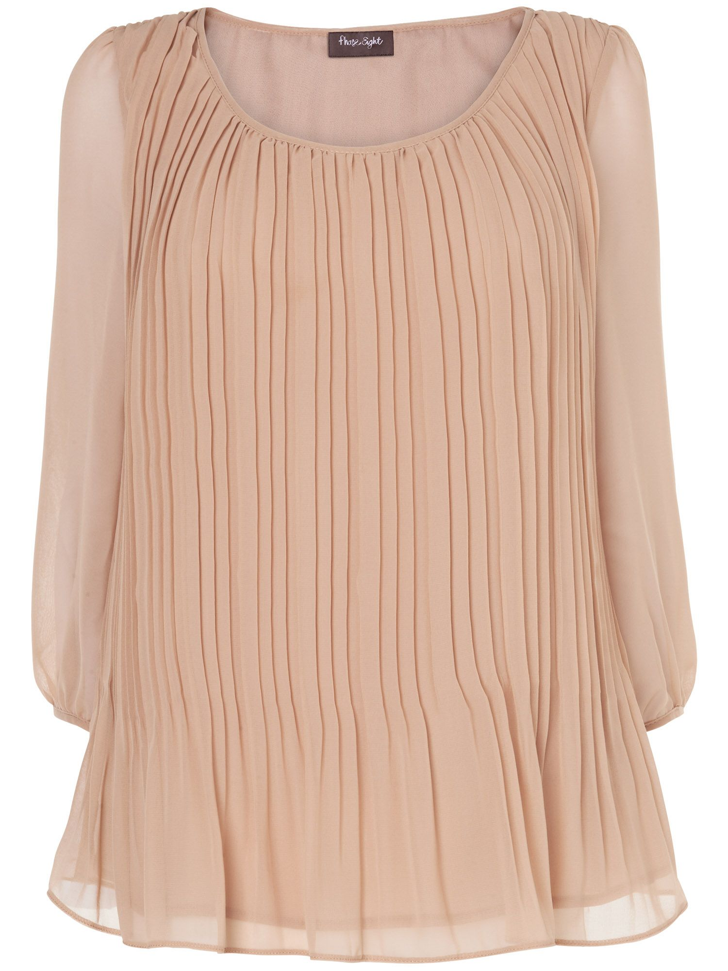 Jill pleated blouse