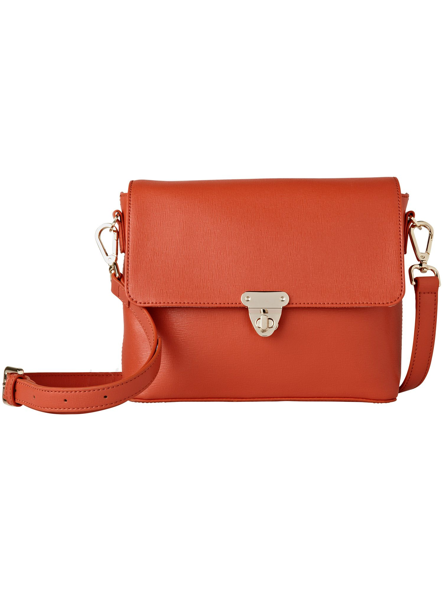 Georgie leather shoulder bag