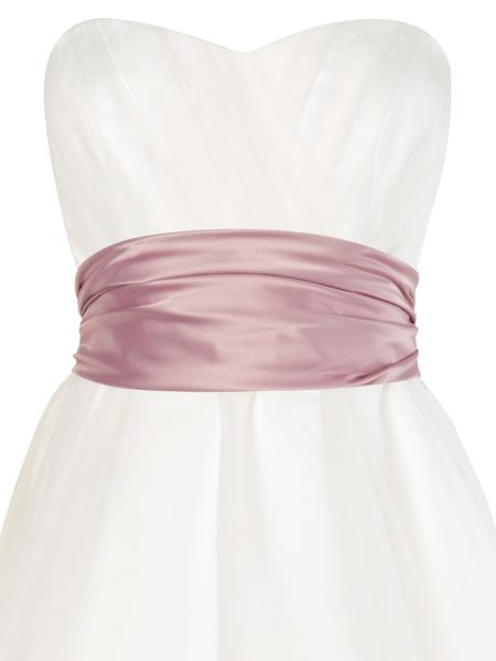 Phase Eight Emilia satin sash