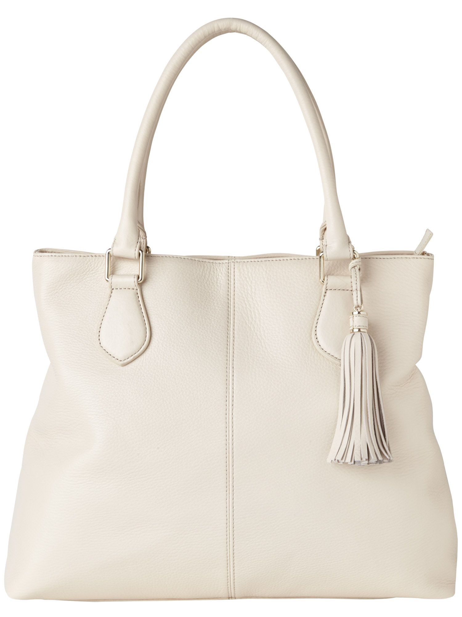 Kirsty leather tote bag
