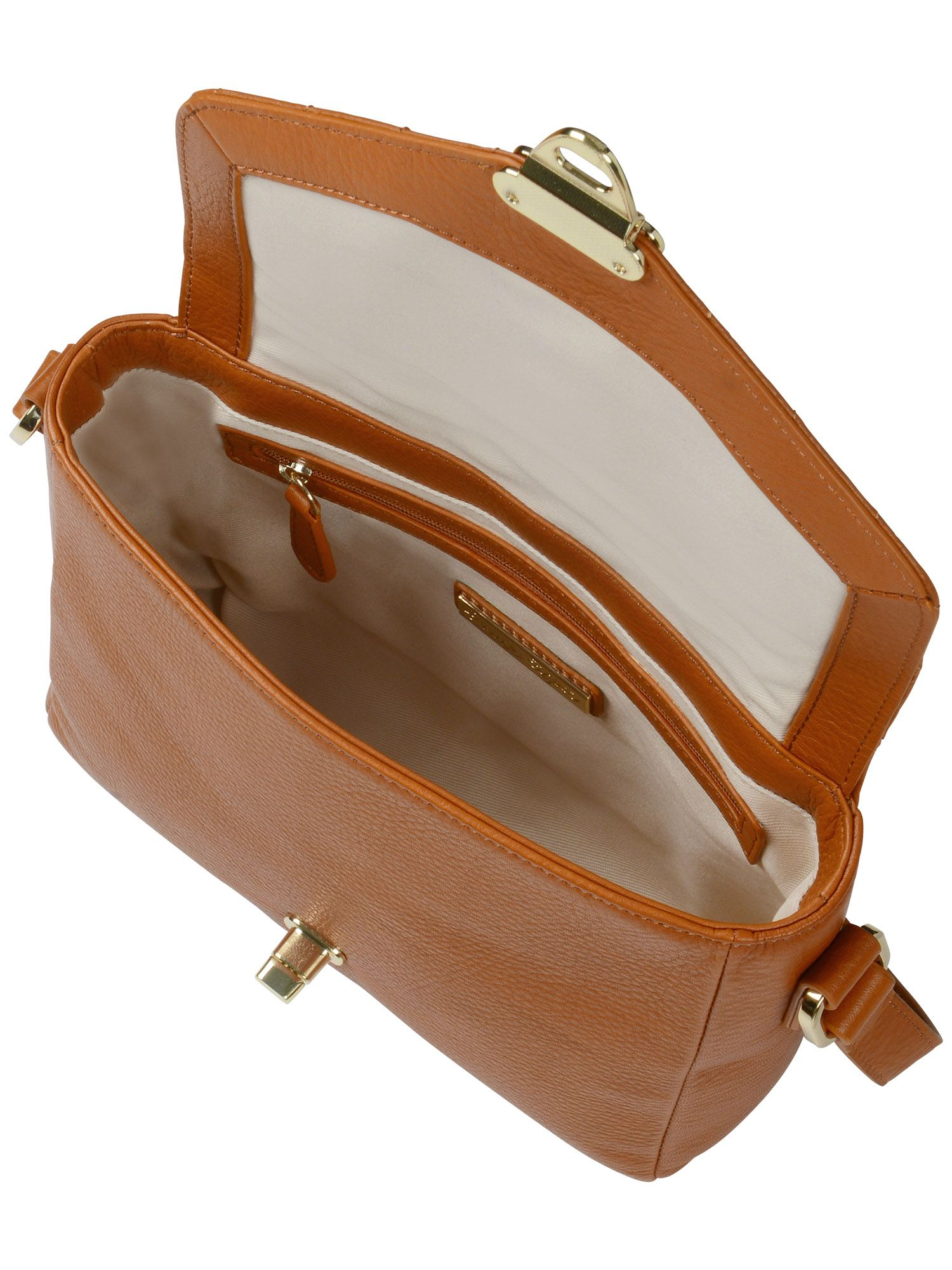 Estelle leather shoulder bag