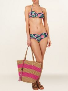 Phase Eight Rose print bikini bottoms