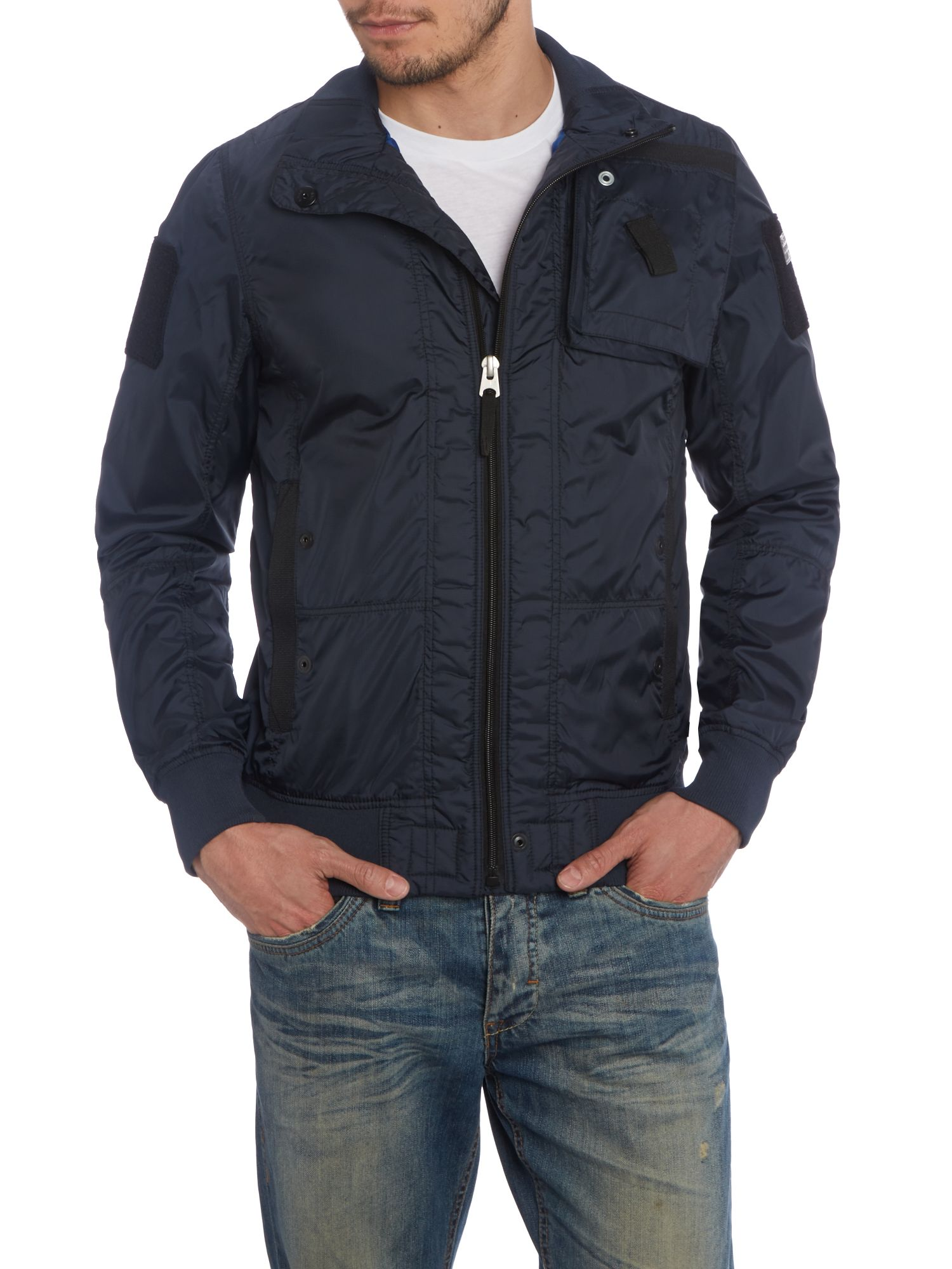 Three pocket bomber jacket