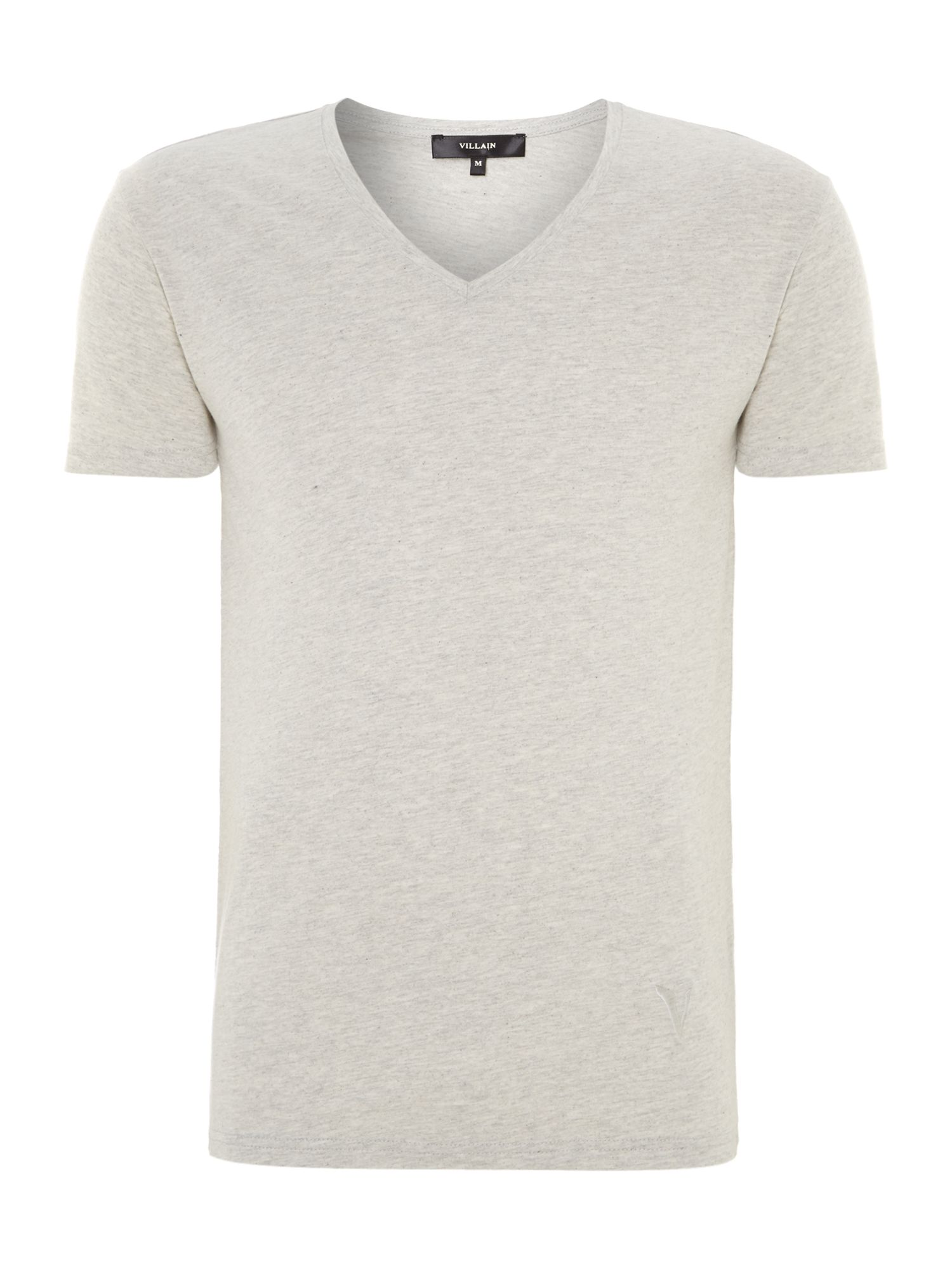 Vee neck basic t shirt