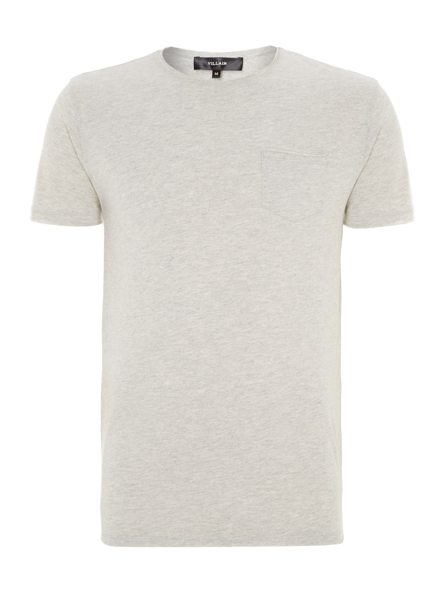 Crew neck basic t shirt