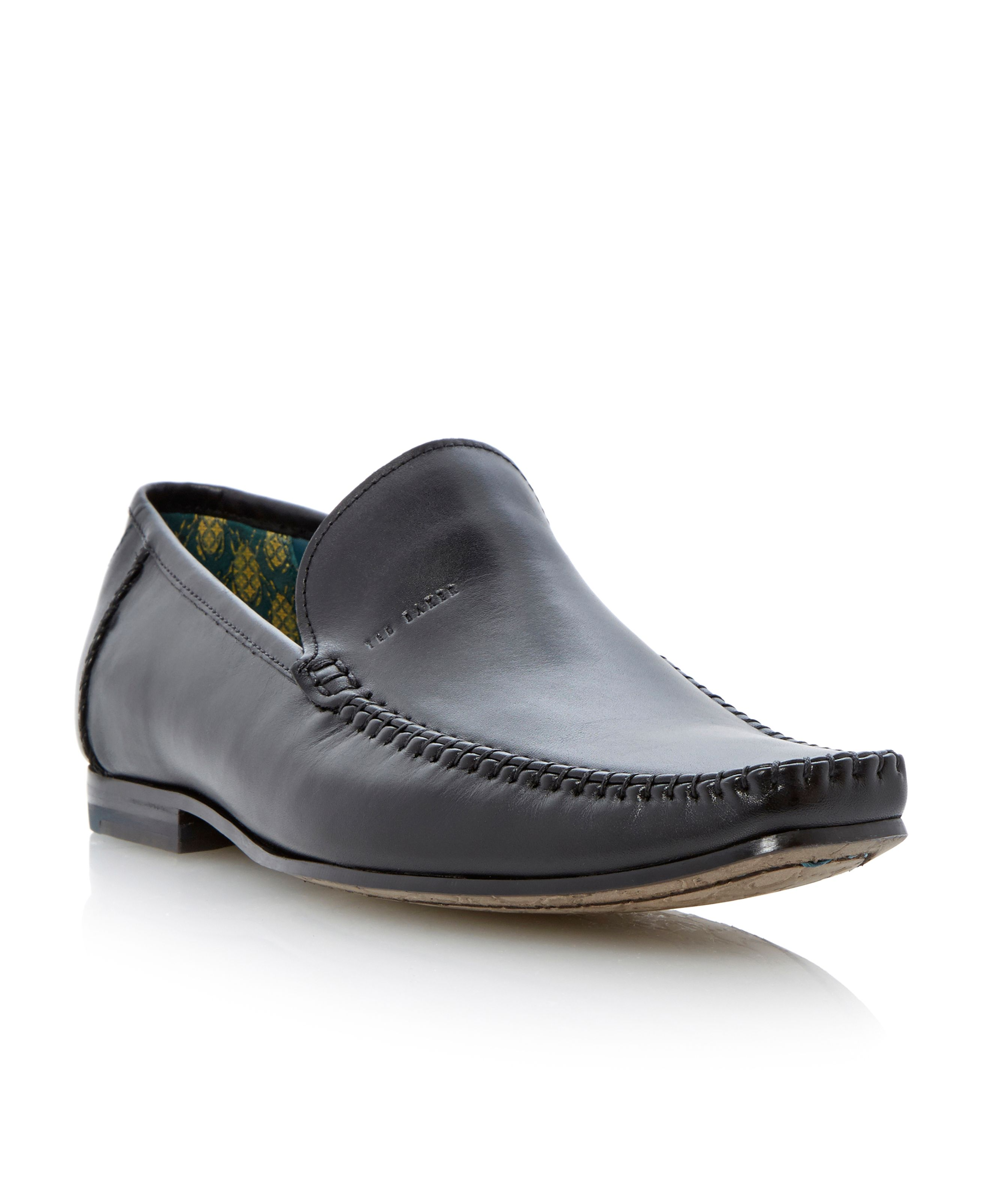Bly 6 slip on leather moccasin