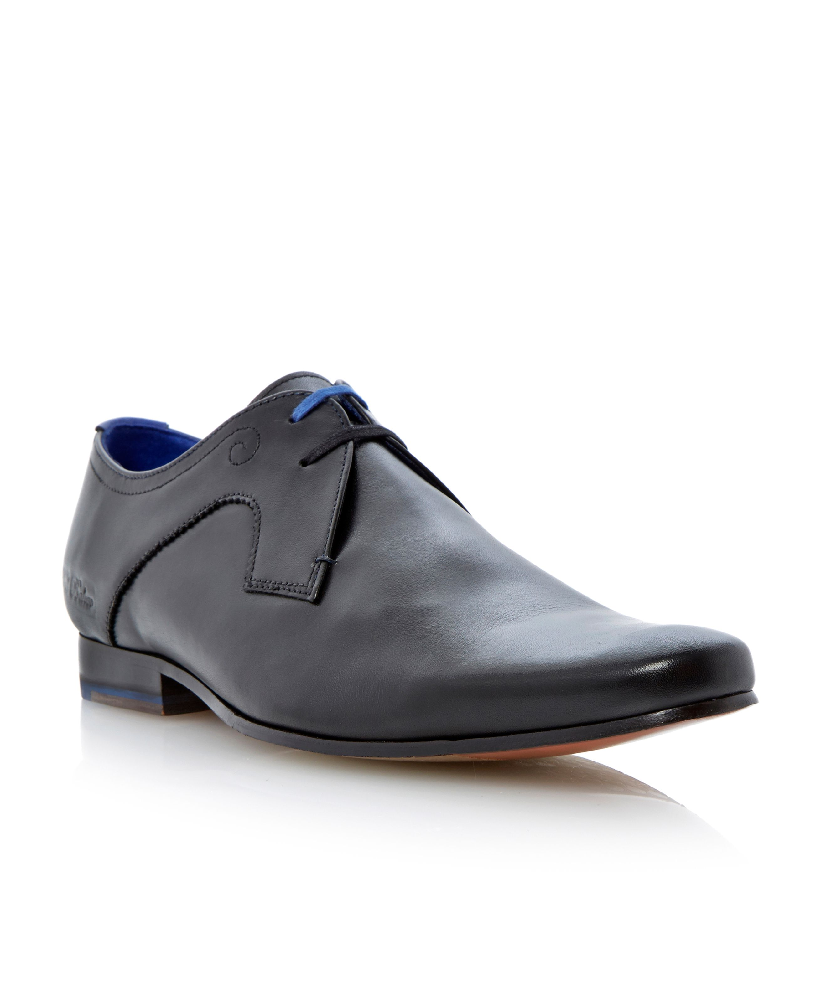 Martt lace up soft point derby shoes
