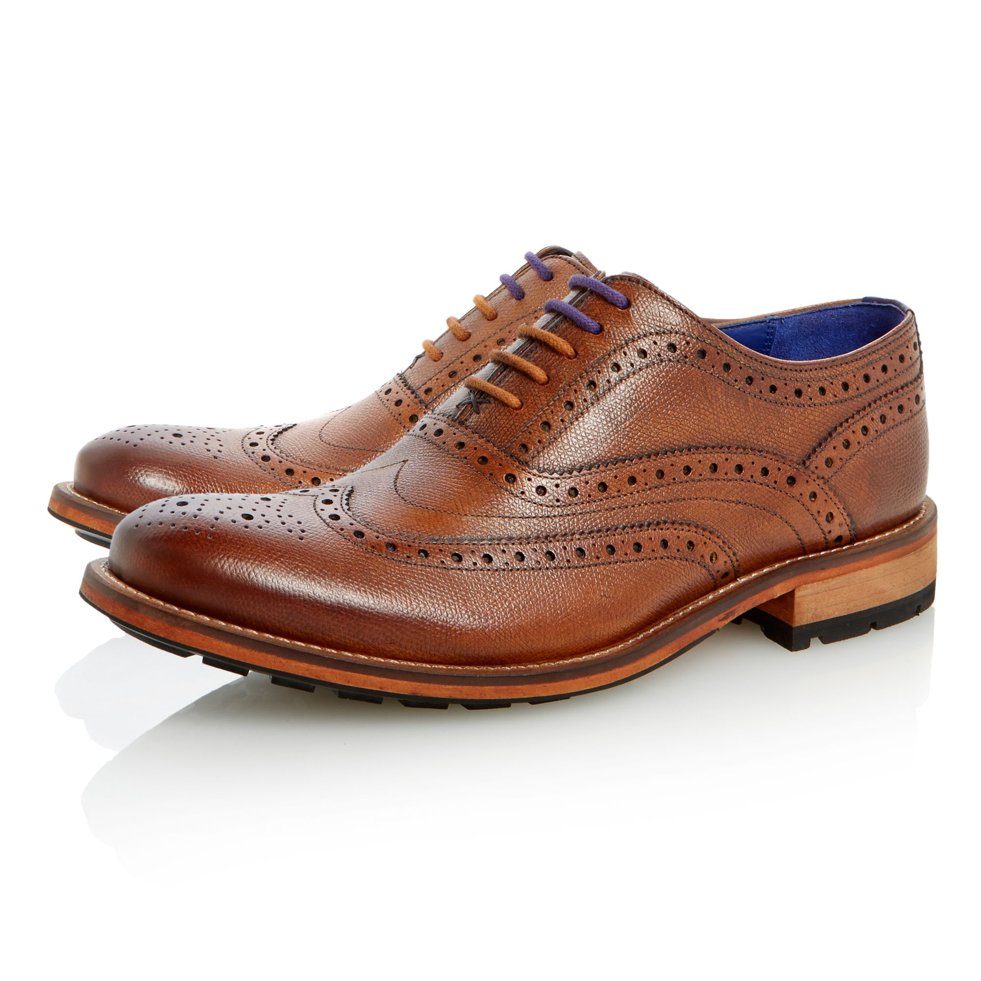 Guri 7 lace up heavy brogues