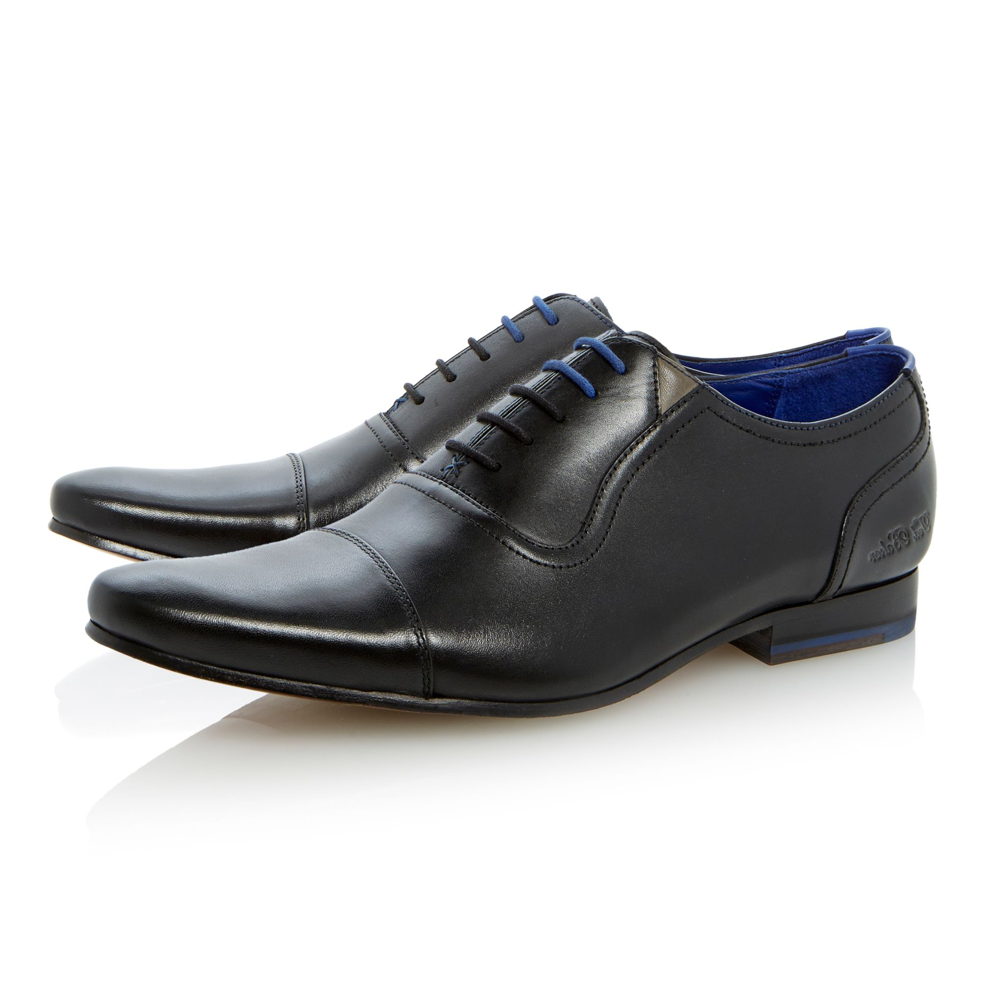 Rogrr lace up toe cap oxford shoes