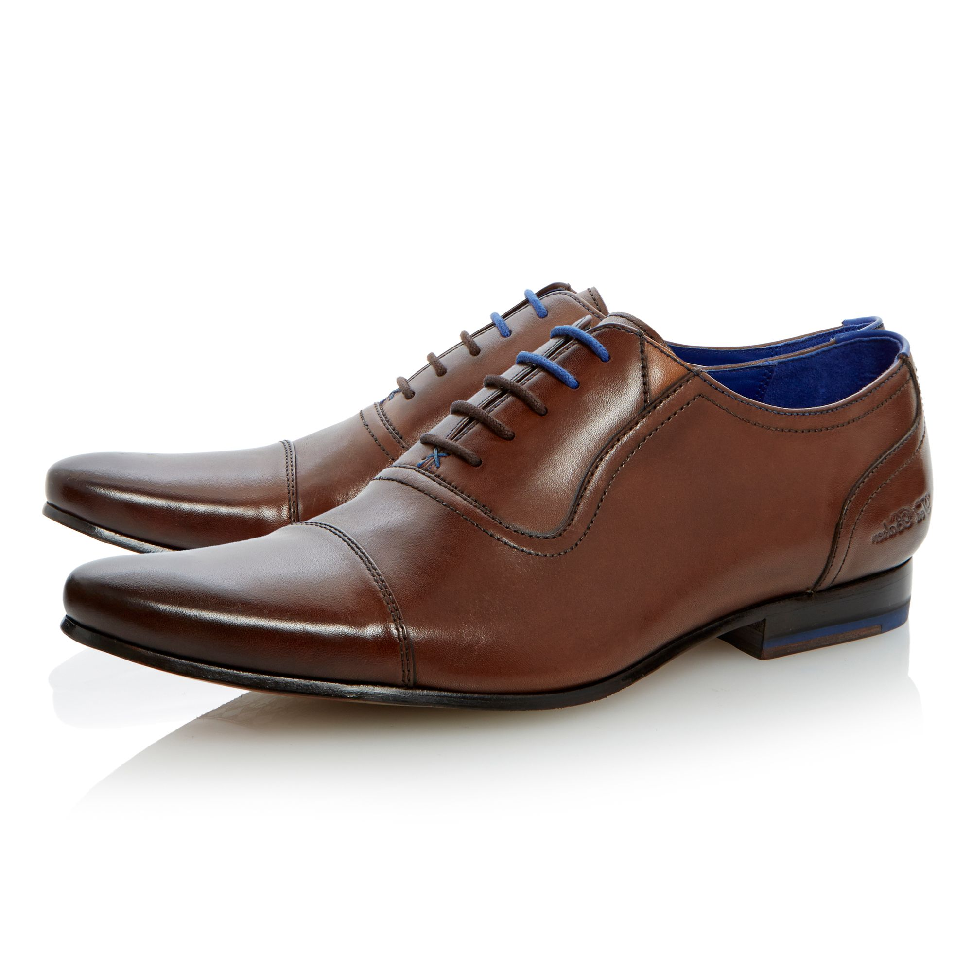 Rogrr toe cap detail oxford lace up shoe