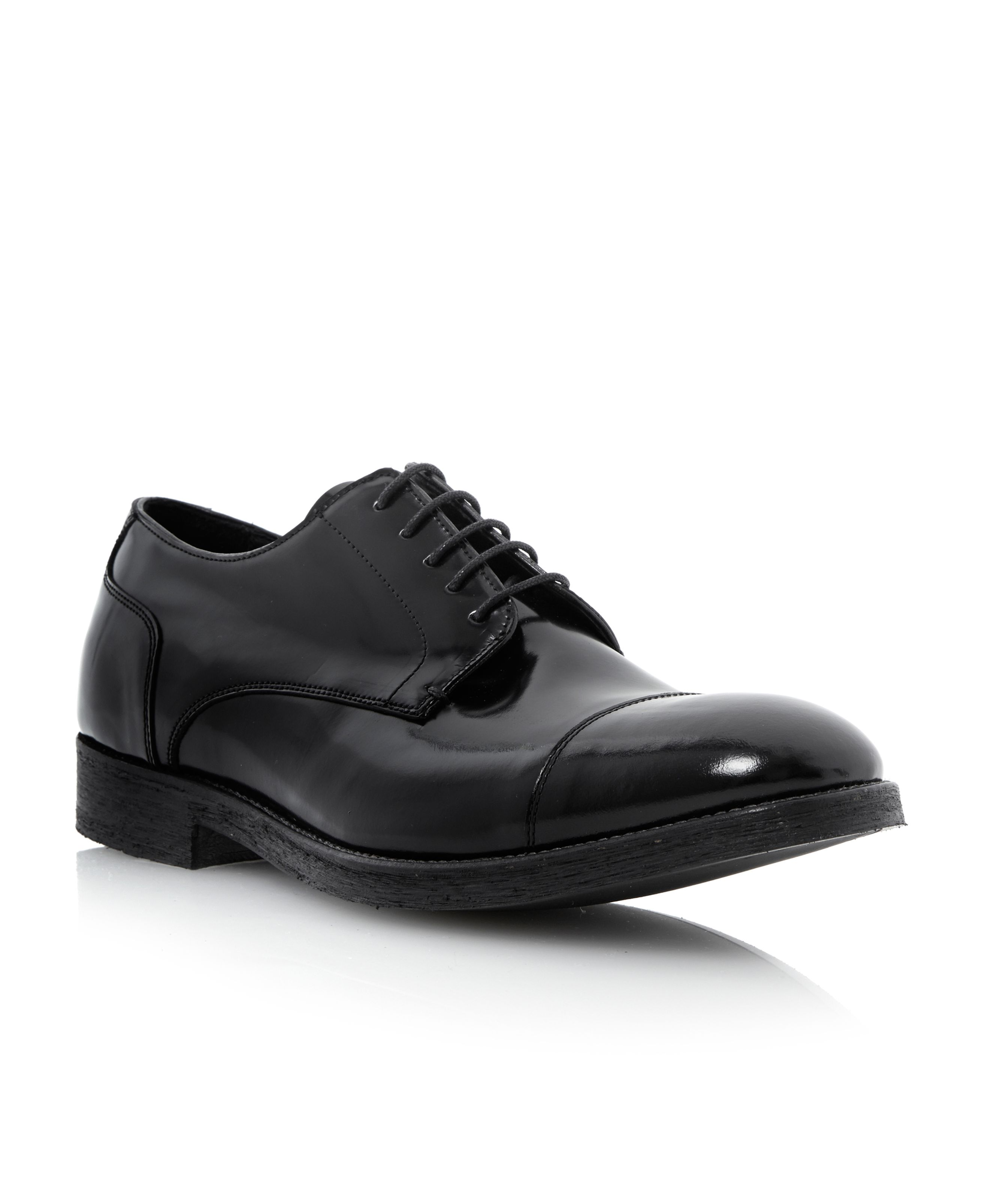 Apple tree high shine formal shoe