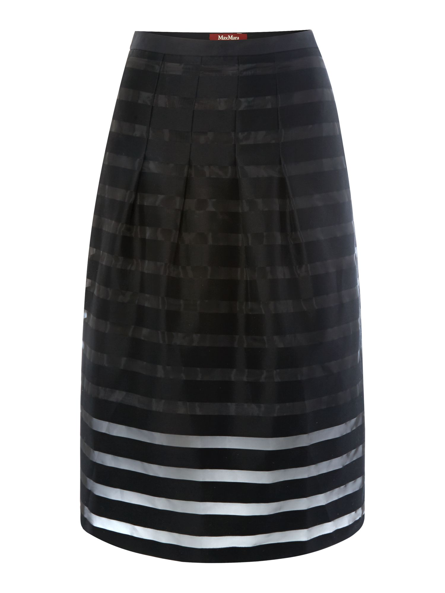 Carioca pleated a line skirt