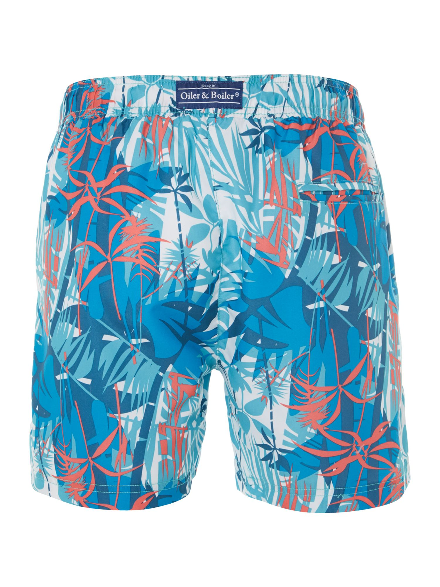 Caribbean all over print swim short