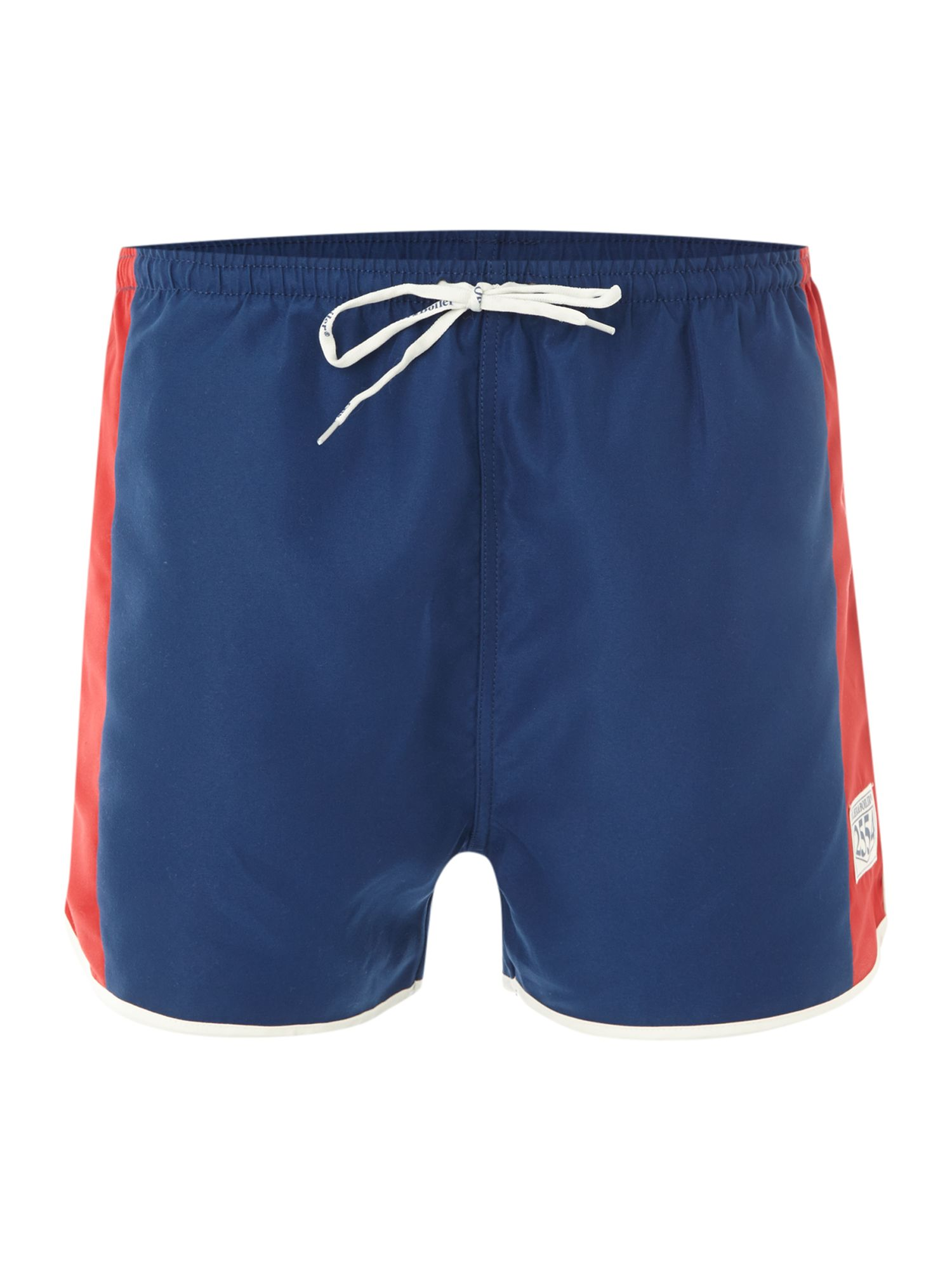 Contrast sides swim short