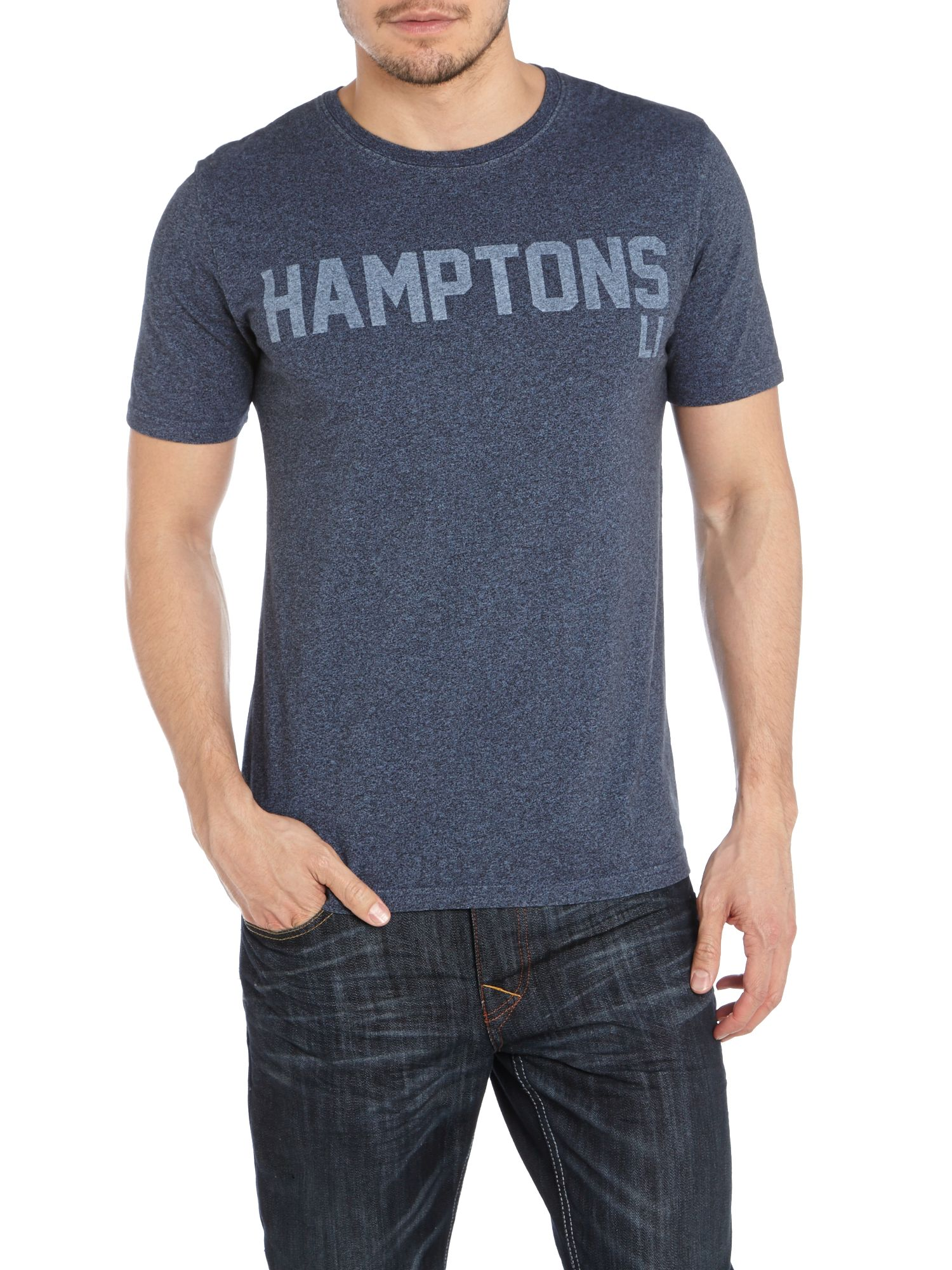 Hamptons printed t shirt