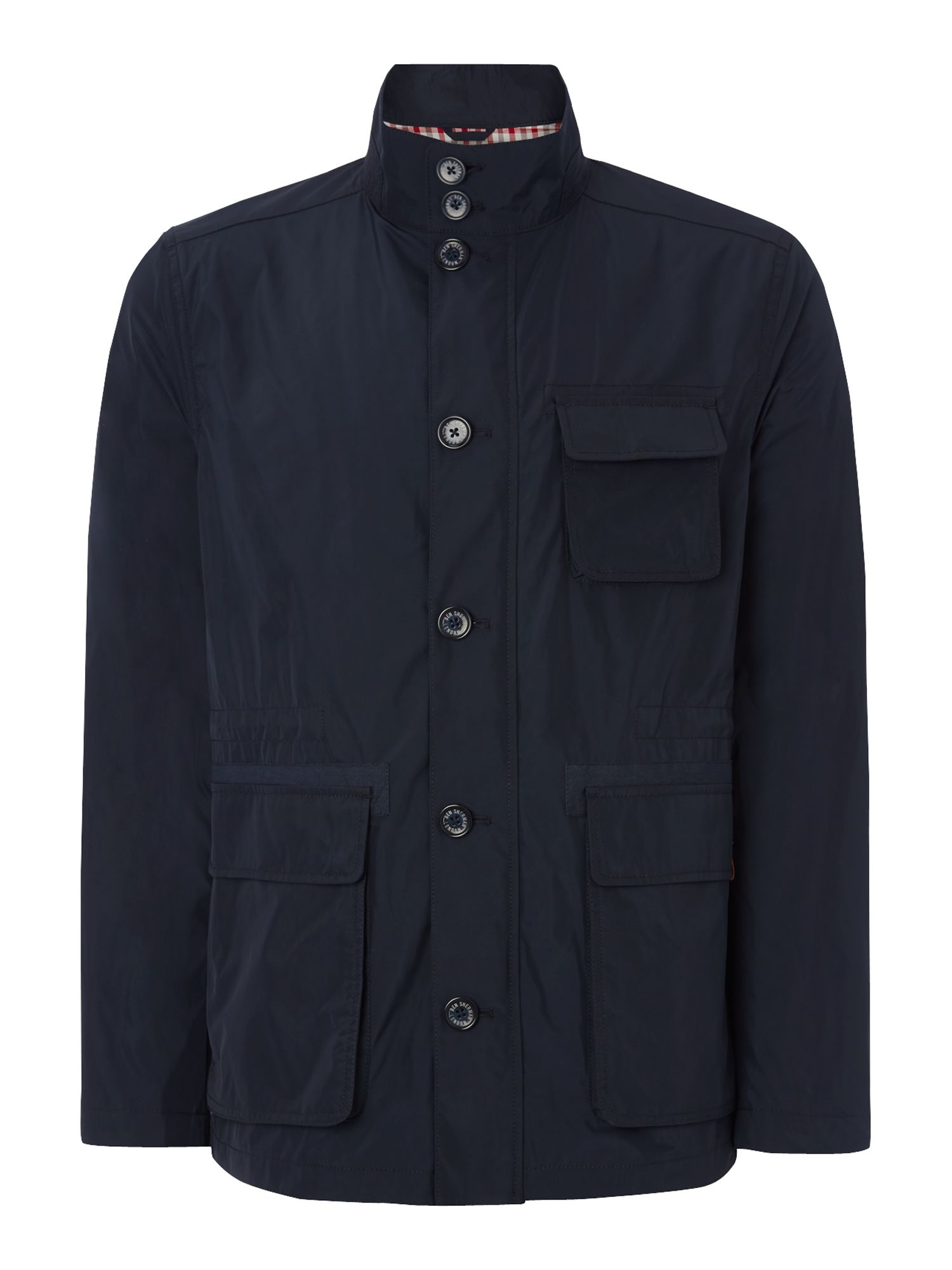 Memory nylon field jacket