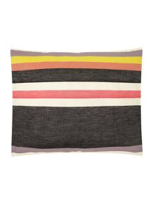 Cherie stripe boudior cushion