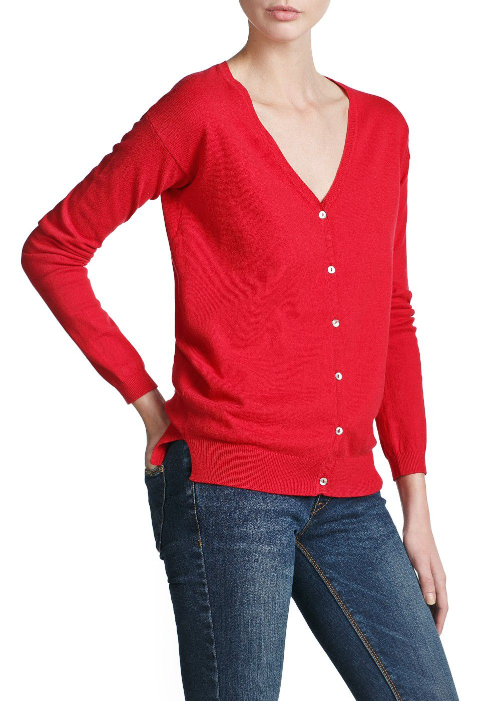 Essentail v-neck cardigan