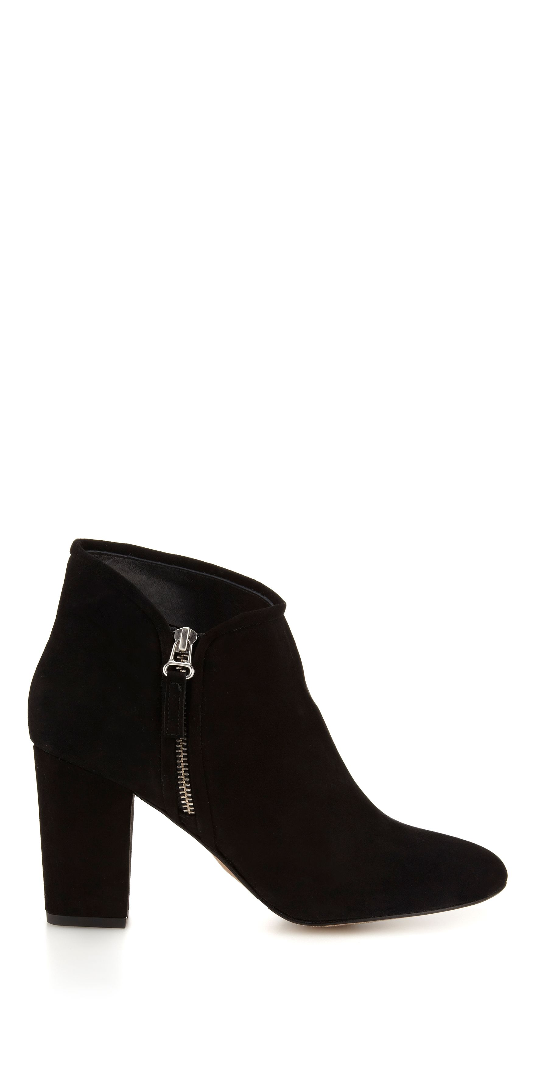 Marilyn Side Zip Block Boot