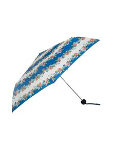 Nautical floral superslim umbrella
