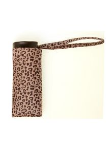 Leopard print tiny umbrella
