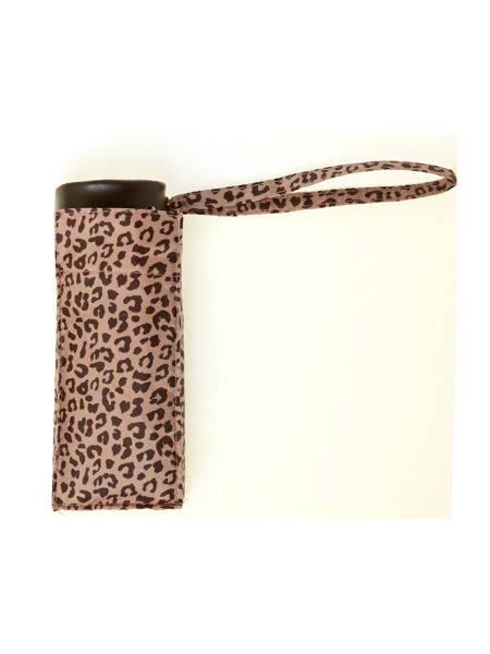 Fulton Leopard print tiny umbrella