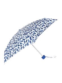 Feather print tiny umbrella