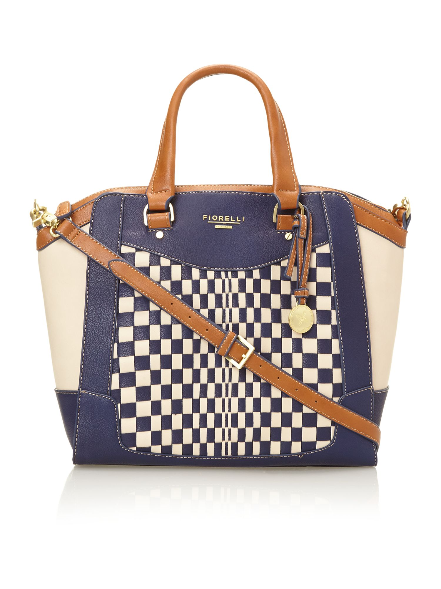 Kenzie multi coloured tote bag