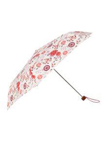 Fulton Coronation print superslim umbrella