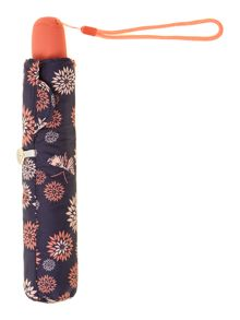 Fulton Flight floral print superslim umbrella