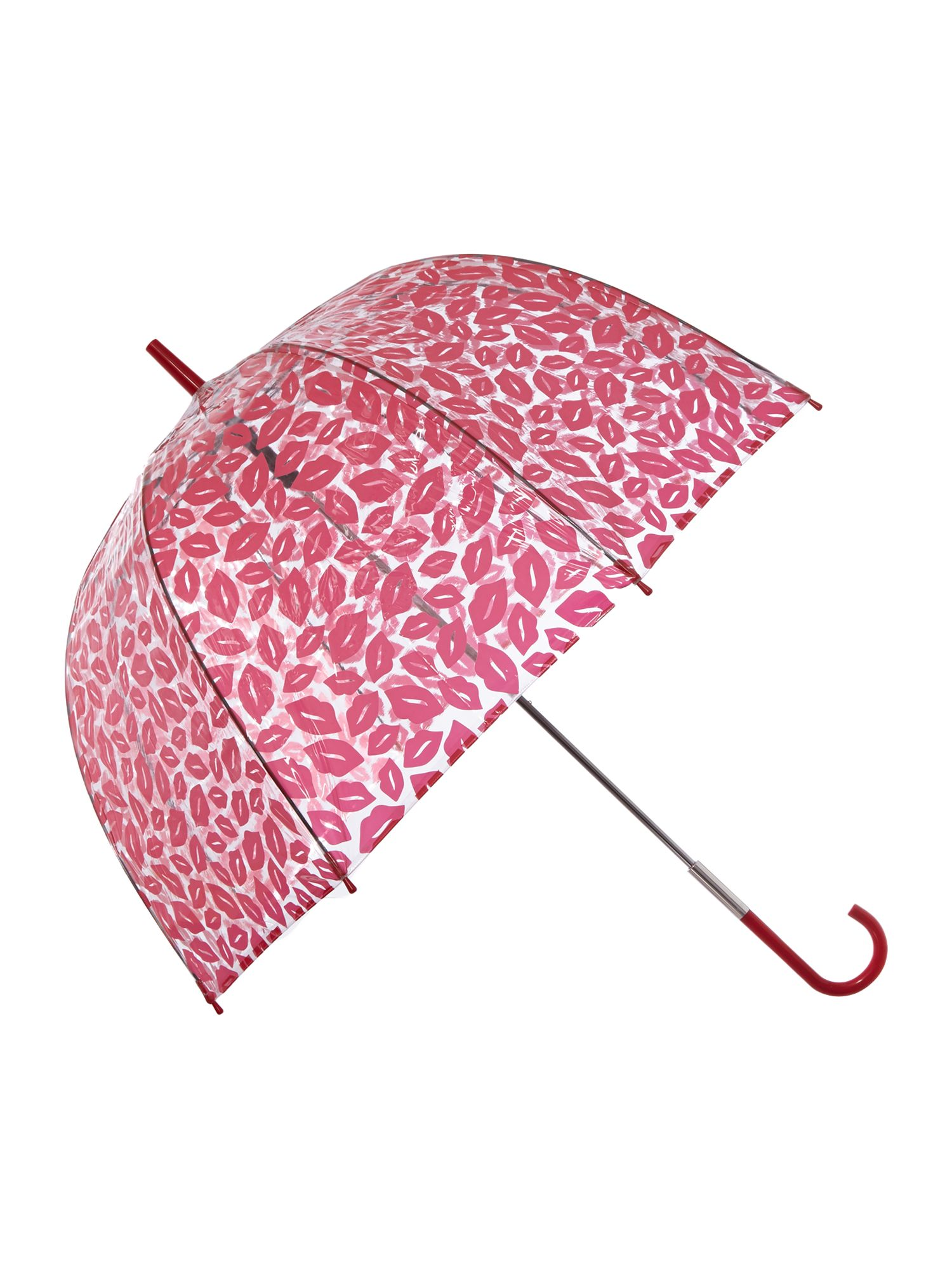 Rred lips birdcage umbrella